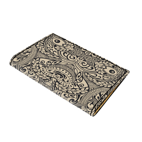 Hawaii Polynesian Culture Old Leather Passport Holder - AH - J6 - Alohawaii