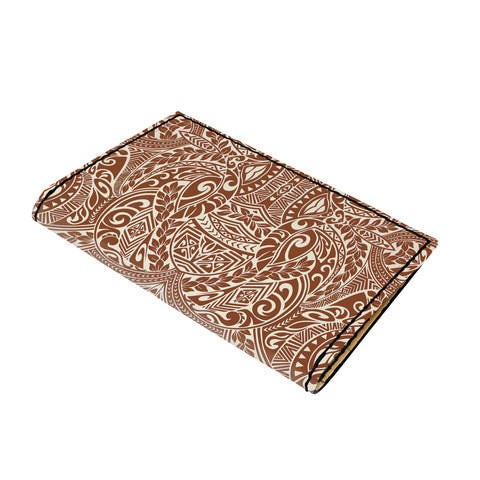 Hawaii Polynesian Culture Leather Passport Holder - AH - J6 - Alohawaii