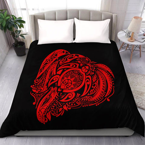 Simple Comforter Red AH - J7C