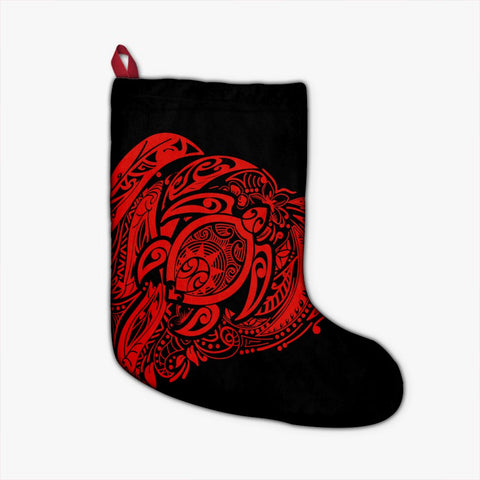 Simple Christmas Stocking Red AH - J7R