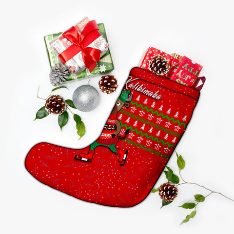 Hawaiian Turtle Christmas Stocking