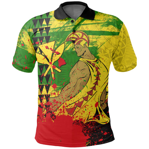 Hawaii Warrior Polo Shirt
