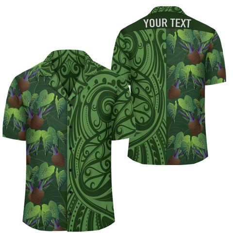 Hawaii Kalo Tropical Polynesian - Hawaiian Shirt - Melio Style - AH - J2 - Alohawaii