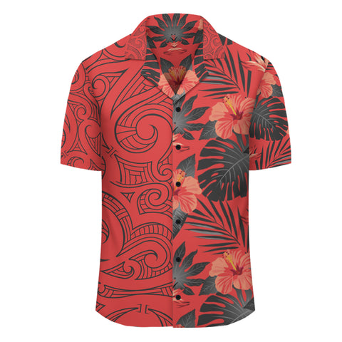 Hawaii Hibiscus Tropical Polynesian - Hawaiian Shirt - Melio Style - AH - J2 - Alohawaii
