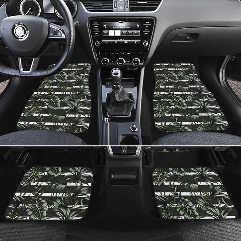 Tropical Line Patttern Hawaii Car Floor Mats - AH - J6 - Alohawaii