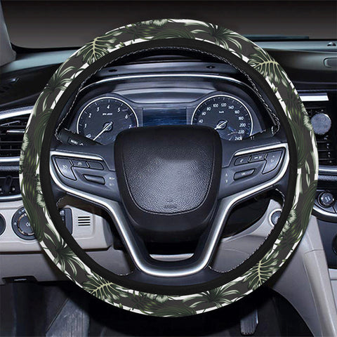 Tropical Line Patttern Hawaii Universal Steering Wheel Cover with Elastic Edge - AH - J6 - Alohawaii