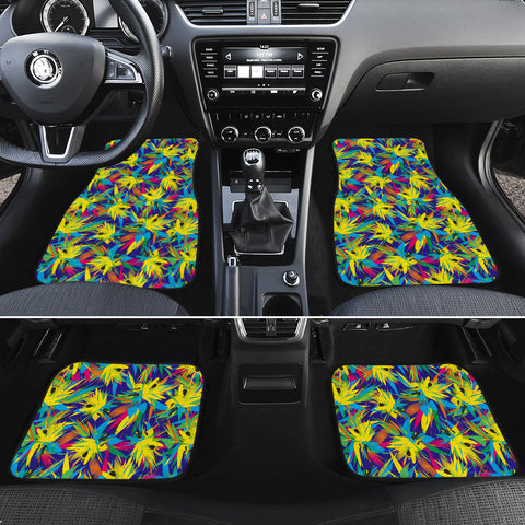 Tropical Pattern Mix Hawaii Car Floor Mats - AH - J6 - Alohawaii