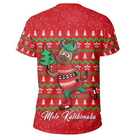 Image of Hawaiian Turtle Christmas T-Shirt - Alohawaii