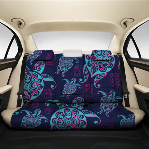 Turtle Neon Back Seat Cover AH J1 - Alohawaii