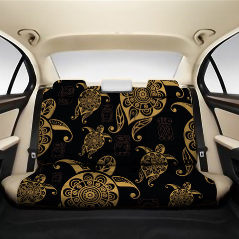 Turtle Pattern Golden Back Seat Cover AH J1 - Alohawaii