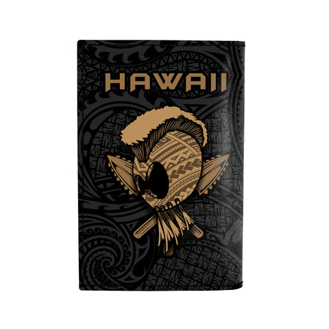 Hawaii Warrior Polynesian Leather Passport Holder - AH - J6 - Alohawaii