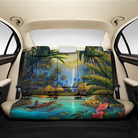 Vintage Village Back Seat Cover AH K5 - Alohawaii