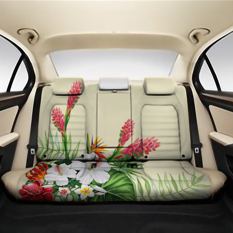 Wonderful Hibiscus Flower Back Seat Cover AH J1 - Alohawaii