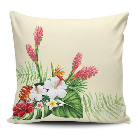 Wonderful Hibiscus Flower Pillow Covers - AH - J1