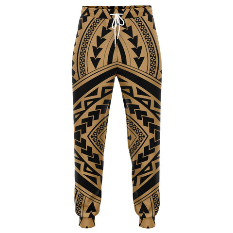 Image of Polynesian Tradition Gold Joggers