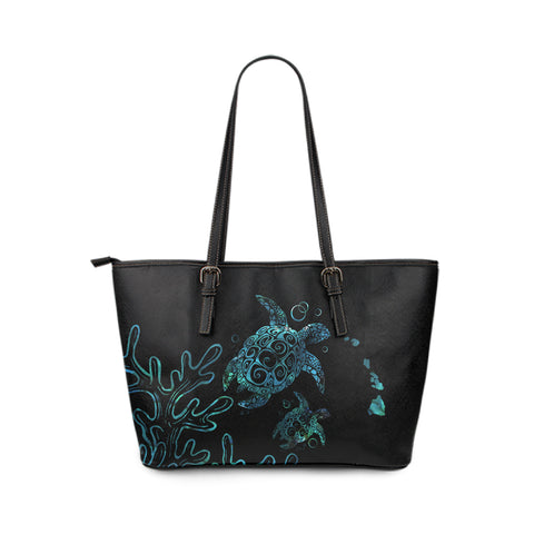 Hawaii Small Leather Tote