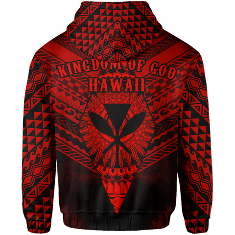 Image of Hawaiian Zipper Hoodie
