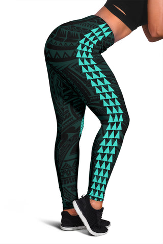 Hawaii Turtle Shark Polynesian Leggings