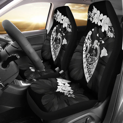 Hawaii Hibiscus Banzai Surfing Car Seat Cover V2 - AH - J5 - Alohawaii
