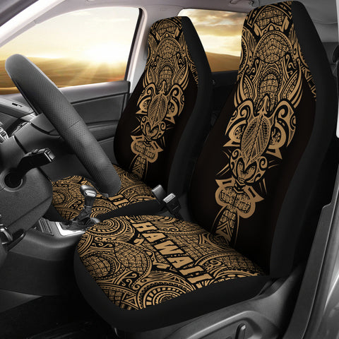 Hawaii Turtle Polynesian Car Seat Cover - Armor Style