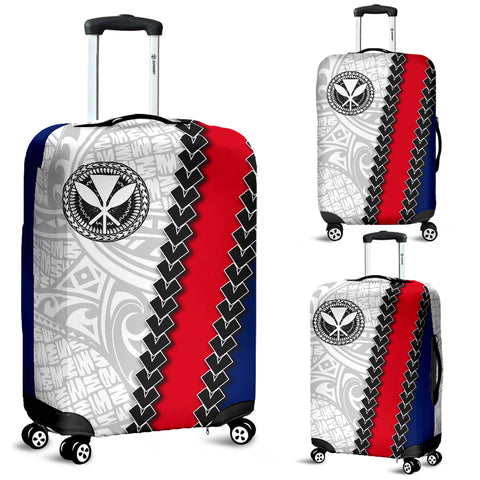 Hawaii Kakau Flag Polynesian Luggage Covers