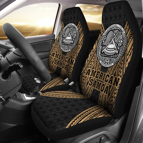Image of American Samoa Polynesian Car Seat Cover - Gladiator Style