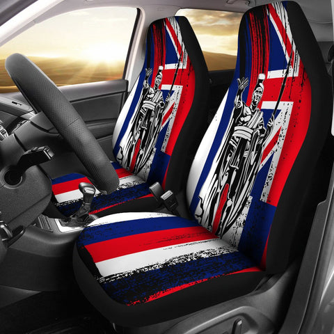 Image of Hawaii King Flag Car Seat Covers - J4 - Alohawaii