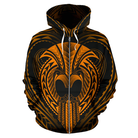 Image of Ikaika Warrior Zip Hoodie