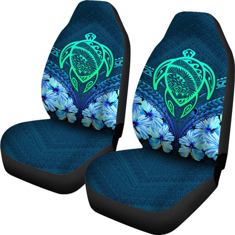 Hawaii Turtle Hibiscus Car Seat Cover