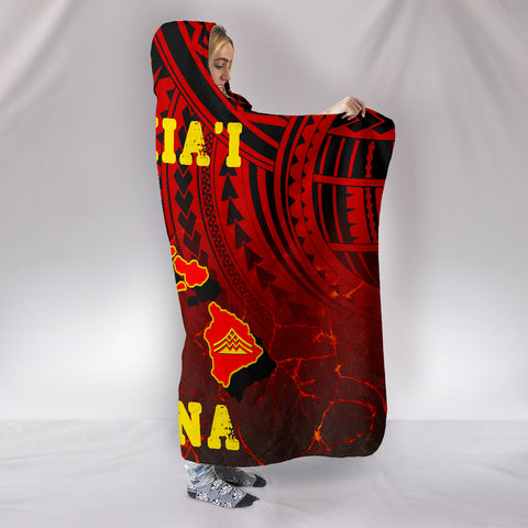Image of Hawaii Hooded Blanket
