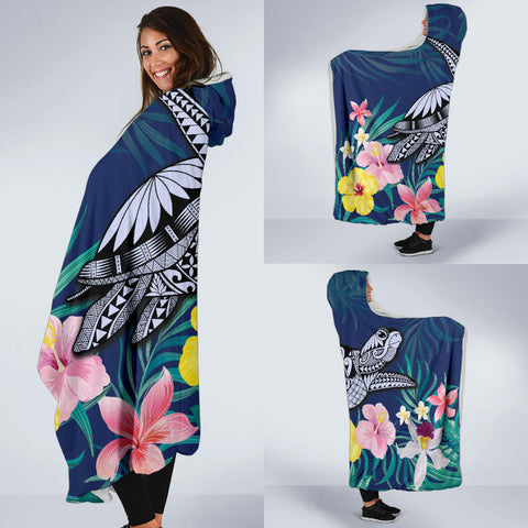 Hawaii Tropical Turtle Hooded Blanket - AH - J4 - Alohawaii