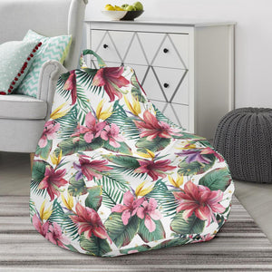 Stupendous Hawaii Tropical Palm Tree And Flower Bean Bag Chair Ah Caraccident5 Cool Chair Designs And Ideas Caraccident5Info