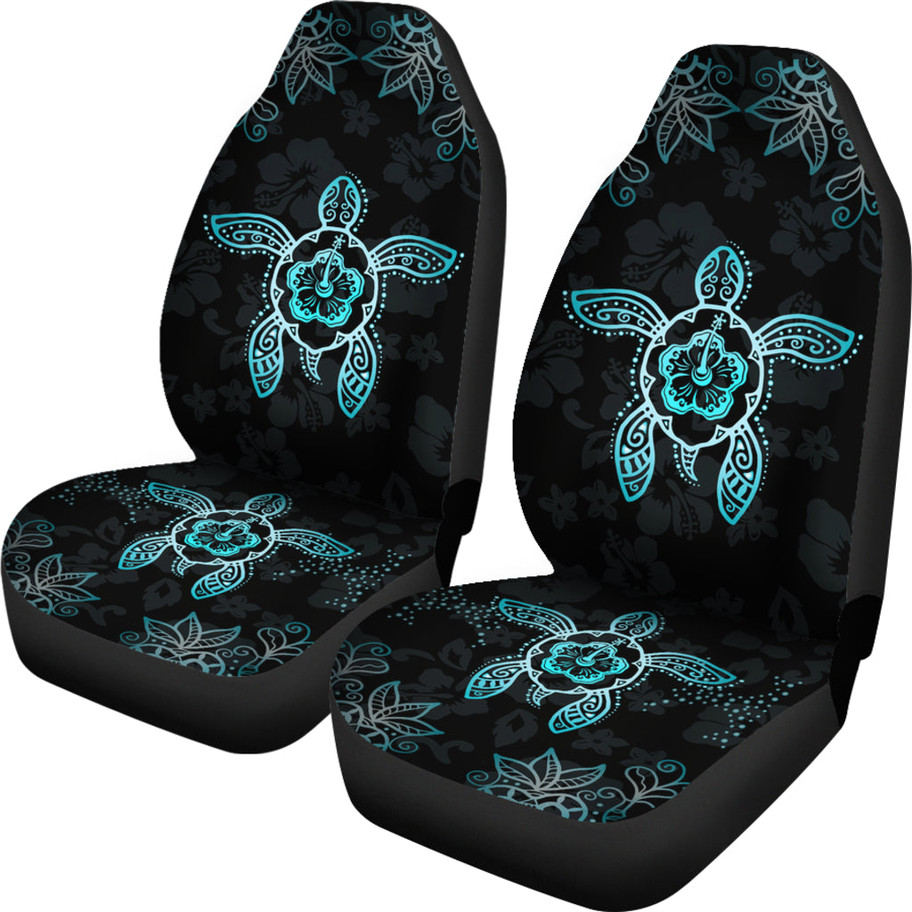 Hawaiian Car Seat Covers >> Hawaii Blue Turtle And Hibiscus Car Seat Covers Ah