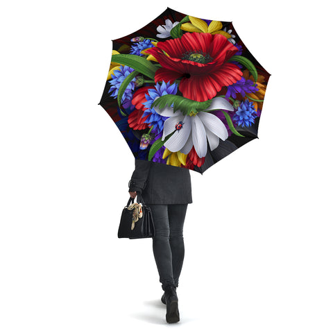 Hibiscus Flower Beautiful Umbrella - AH - J1 - Alohawaii