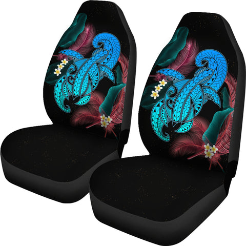Image of Hawaii Turtle Polynesian Tropical Car Seat Cover