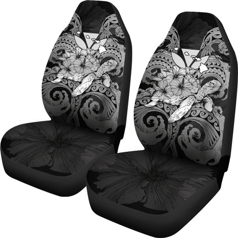 Image of Hawaii Turtle Wave Polynesian Car Seat Cover