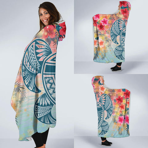 Hawaiian Hooded Blanket