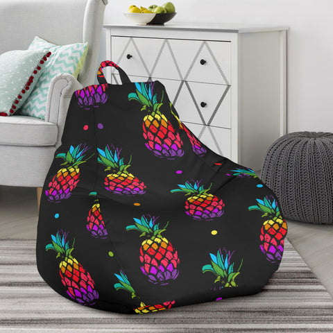 Colorful Pineapple Bean Bag Chair - AH J4 - Alohawaii