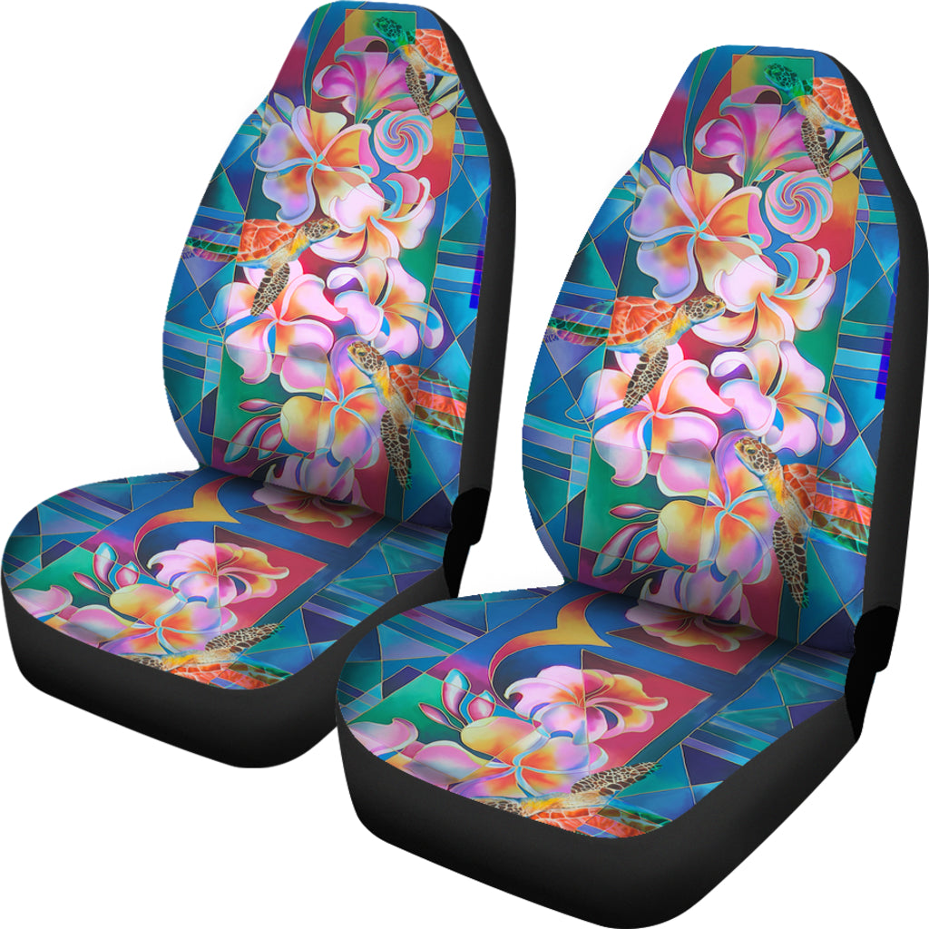 Hawaiian Car Seat Covers >> Hibiscus And Turtle Car Seat Covers Ah Hawaii Car Seat Covers