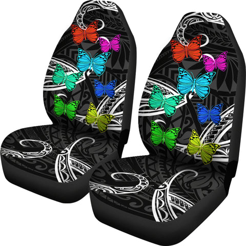 Image of Hawaii Polynesian Butterflies Car Seat Covers