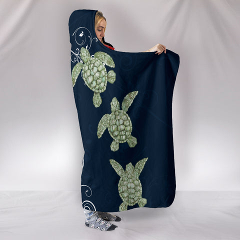 Hawaii Hooded Blanket