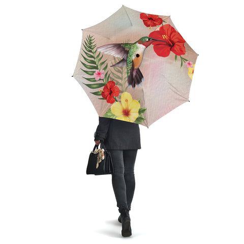 Hibiscus Bird Umbrella - AH - J1 - Alohawaii