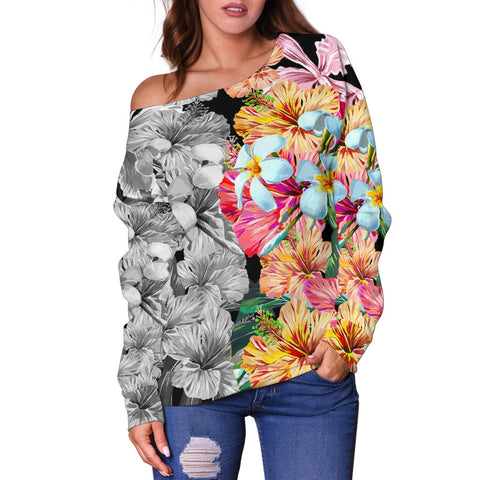 Hawaii Women's Off Shoulder Sweater