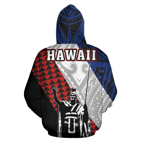 Image of Kanaka King Polynesian Zip-up Hoodie - AH - Alohawaii