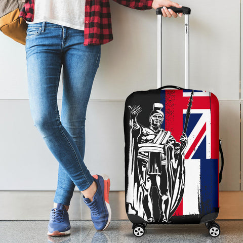 Image of Hawaii King Flag Luggage Covers - J4 - Alohawaii