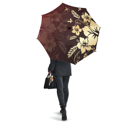 Hibiscus Golden Royal Umbrella - AH - J1 - Alohawaii