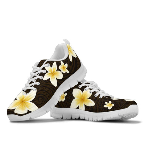 Image of Alohawaii Sneakers - Plumeria Special White