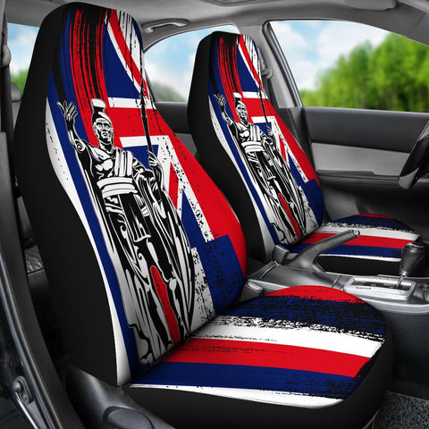 Hawaii King Flag Car Seat Covers - J4 - Alohawaii