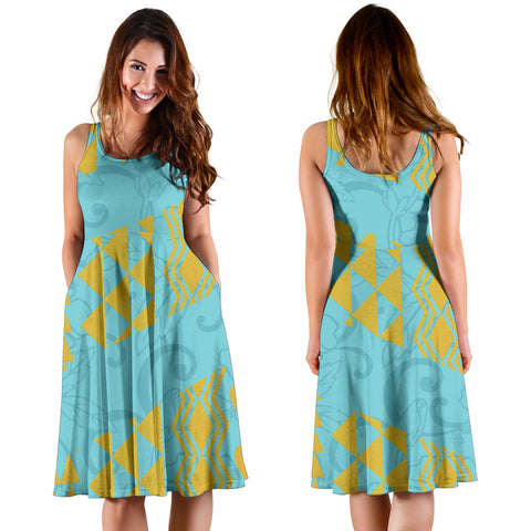 Hawaiian Hibiscus Flower Dress