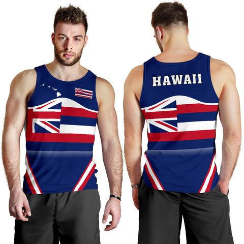 Hawaii Coat Of Arms Men's Tank Top Line Sport - AH - J7
